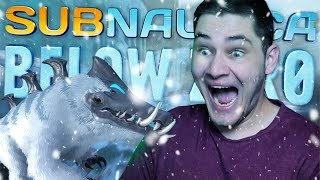 NOWY UPDATE, SKUTER ŚNIEŻNY! | Subnautica Below Zero #08