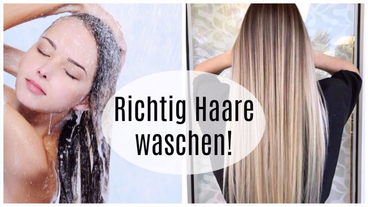 Haare waschen fruher