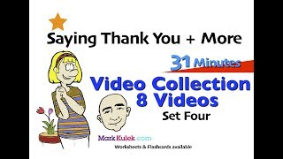 Baixar Say Thank You + More | 4 | English Speaking Practice For Communication | ESL