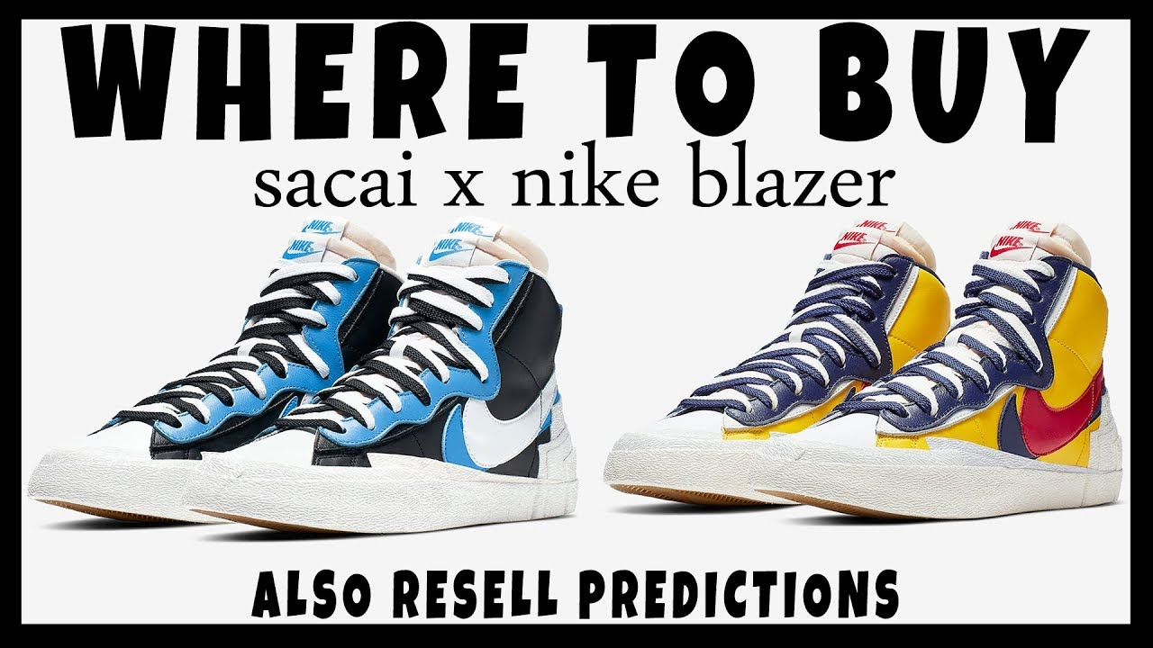 49940ece SACAI X NIKE BLAZER MID SNOW BEACH | WHERE TO BUY | HOW TO COP | RESELL  PREDICTIONS