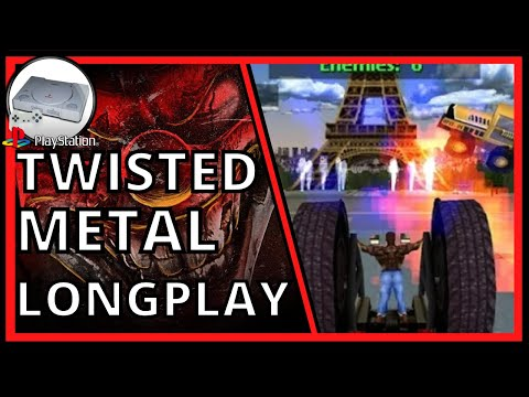 PSX Longplay #20: Twisted Metal 2