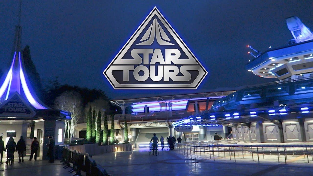 Star Tours Ride In Disneyland