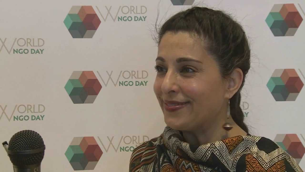 Ms. Hassina Sherjan, CEO Aid Afghanistan for Education