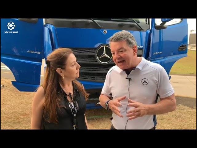 Novo Actros da Mercedes-Benz