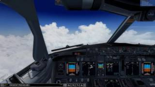 [P3D] -  [HD] Approach ENGM realistic graphics  Boeing 737-800 WL