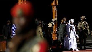 Экс лидер Гамбии Яйя Джамме покинул страну