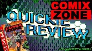 Comix Zone - Sega Genesis [Quickie]