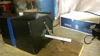 Repeat youtube video Showing Cigarette Machine (blue) / Megmutatót Elektromos Cigarettatöltő gép (kék) part 5/7