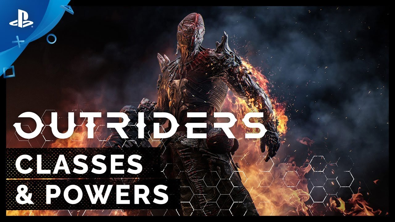 Outriders - Powers and Classes Feature