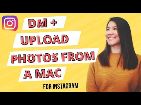 How to dm on instagram on mac no download
