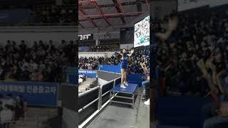 현대캐피탈치어리더이은지목나경단체공연(1)