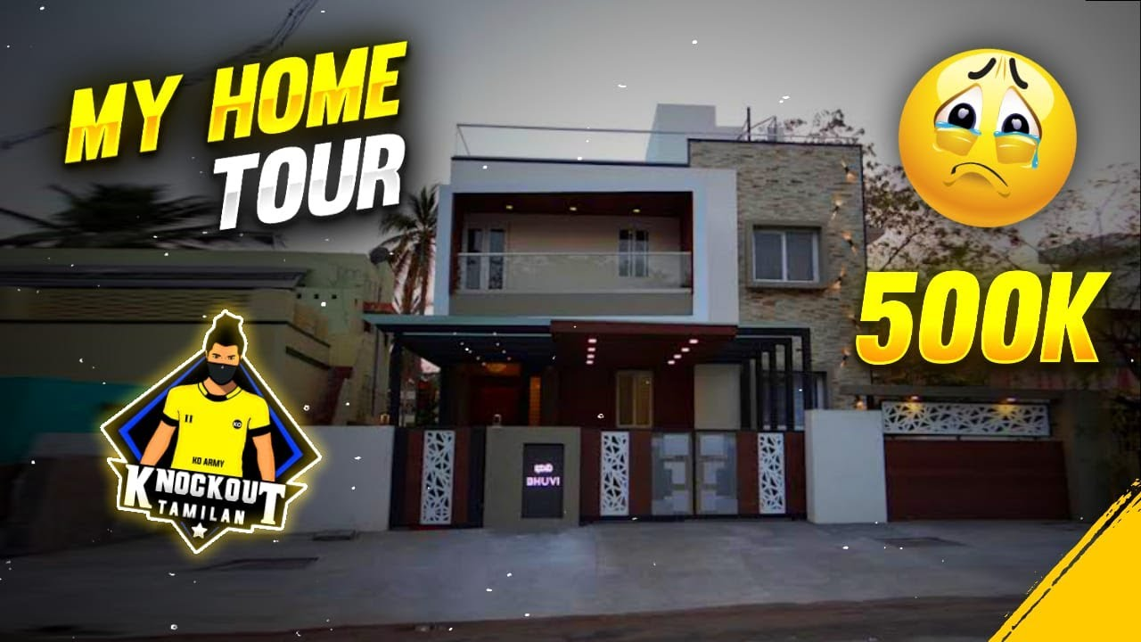 💥KNOCKOUT TAMILAN 🏠 HOME TOUR || 💥    face     💥 || life story of knockout tamilan