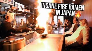 INSANE FIRE RAMEN in Japan | 72 Hours in Kyoto