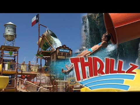 Rock'N River Water Park in Round Rock Texas Overview 2017 HD POV - Thrillz