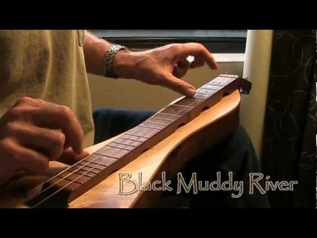 Black Muddy River Grateful Dead Cover On Mountain Dulcimer Chords