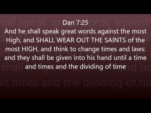 URGENT URGENT!! THE WEARING OUT OF THE SAINTS