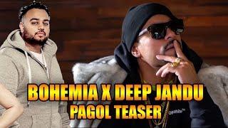 Deep Jandu ft. Bohemia | Pagol | Teaser | J-Statik | Releasing On 8th July 2019 | Planet Recordz