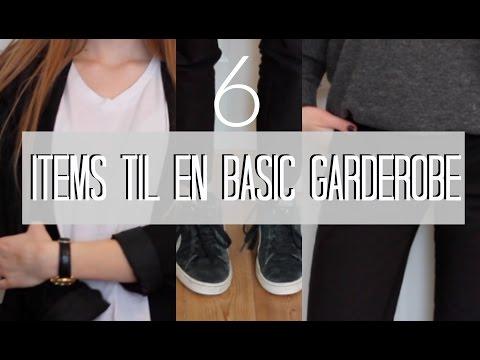 HVORDAN FÅR JEG EN SIMPEL STIL?⎮6 basic items