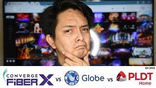 Best Fiber in Metro Manila: Converge vs Globe vs PLDT Q4 2018