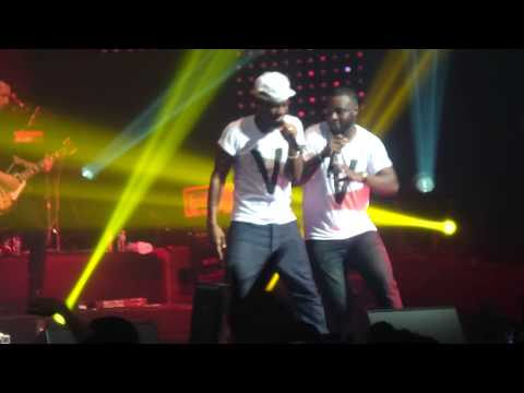BLACK M feat. DR  BERIZ - LA LEGENDE BLACK (Live @ Zenith de Montpellier - 2014) HD
