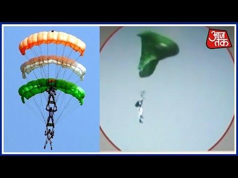 Gandhinagar Vibrant Air Show Para-glider Skipped Death