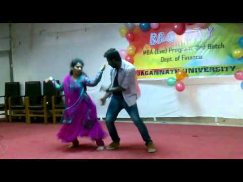 Sundori komola at Jagannath University Rag Day( EMBA Finance 3rd Batch)