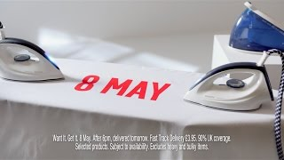 May 8 - Steam Iron - #GetItToday