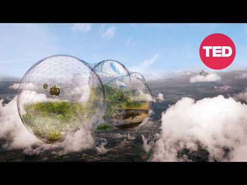 Would you live in a floating city in the sky? (with English subtitles)   Tomás Saraceno