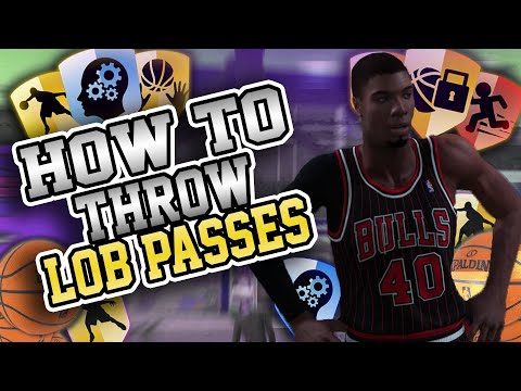 NBA 2K19 How to Throw Alley Oops in 2K