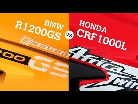 Honda Africa Twin Vs BMW R1200GS Comparison