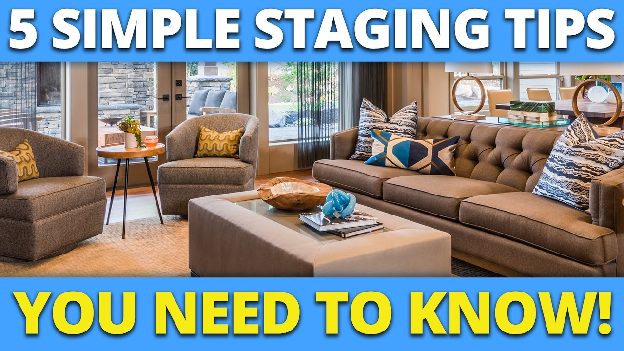5 simple staging tips you need to know youtube