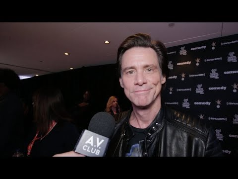 Jim Carrey on what happiness looks like for him