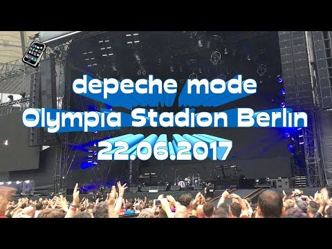 Depeche Mode LIVE @ Berlin 22.06.2017 (Full HD) - phonemix