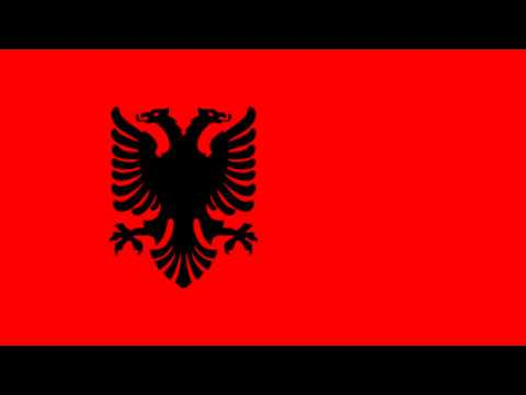 Bandera de Albania bajo ocupación alemana (1943-44) - Albania under German occupation (1943-44)