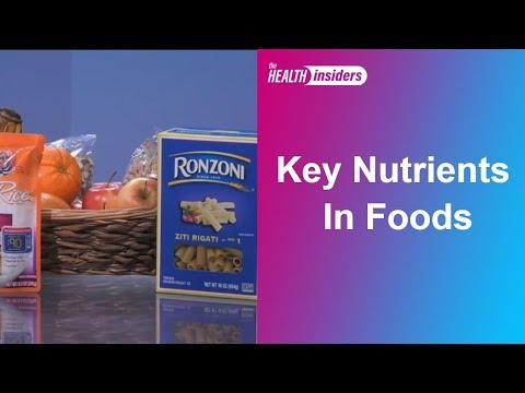 Getting the Essential Nutrients in Food