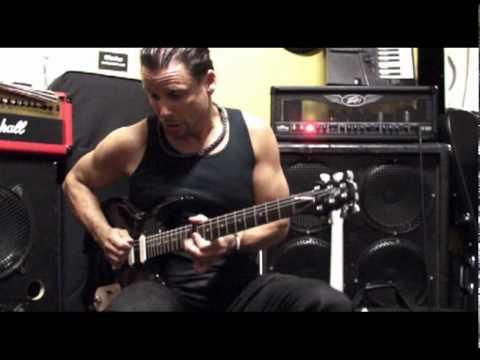 Licea Guitars- JJ Sansaverino plays Lace Sensor hot gold pickups-funky rhythm