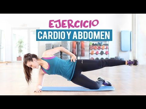 Ejercicio de cardio y abdomen | 10 minutos