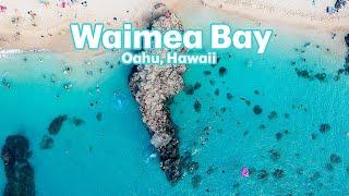 DJI Spark Flight Over Waimea Bay, Hawaii July 2017
