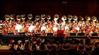 University of Cincinnati Marching Band Concert 12 8 2011 Frosty The Snowman