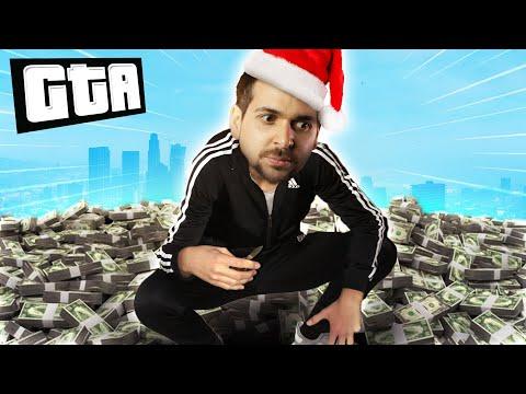 WE FOUND A BIG BAG OF MONEY! | GTA 5