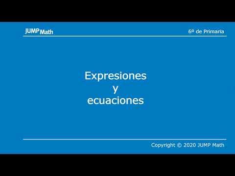 6º. Unidad 3. Expresiones y ecuaciones
