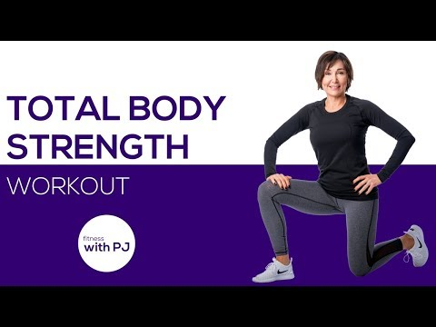 Total Body Strength Workout for Women 🌺