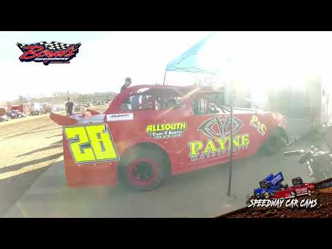 #28J Joey Payne - Mini Stock - Heat & Feature - 2-2-20 Boyds Speedway Cabin Fever - In-Car Camera