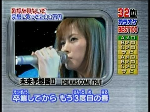 三浦理恵子「未来予想図Ⅱ」(04.01.03)