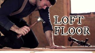 Our timber frame workshop: Loft floor