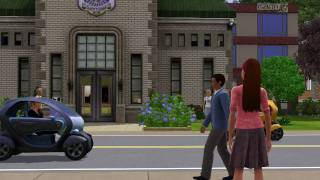 EA The Sims 3 - Renault Twizy Z.E.