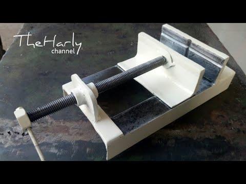 Cara Buat Ragum Bor Duduk   metal drill vise