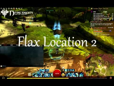 Guild Wars 2 DKB Flax Farming Locations
