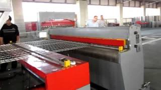 Оборудование работы автоматического станка по производству кладочной сетки(Предлагаем станки различной производительности, различной ширины сетки, размеру ячейки, диаметру арматуры., 2014-02-04T03:53:48.000Z)