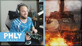 what could go wrong if i use my joystick/throttle/rudder pedals to drive a tank thumbnail